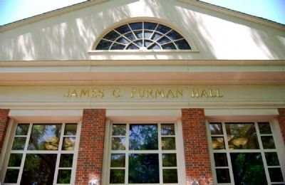 James C. Furman Classroom Building image. Click for full size.