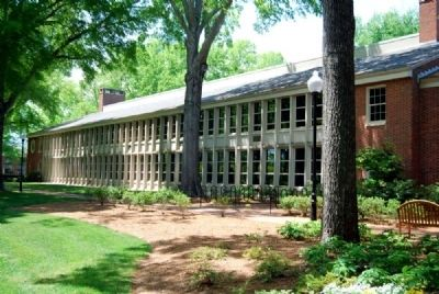 James C. Furman Classroom Building - South Wing image. Click for full size.