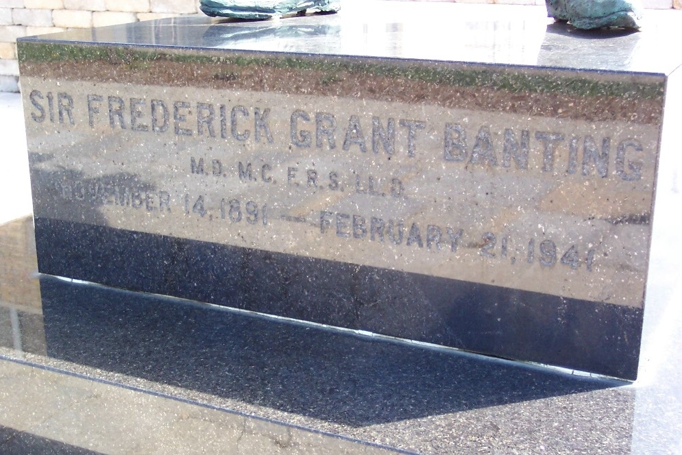 Sir Frederick Grant Banting Statue Base