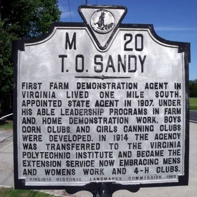 T. O. Sandy Marker image. Click for full size.