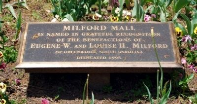 Milford Mall Marker image. Click for full size.