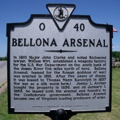 Bellona Arsenal Marker image. Click for full size.