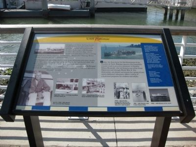 USS Potomac Marker image. Click for full size.
