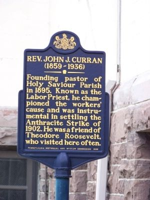 Rev. John J. Curran Marker image. Click for full size.