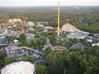 Rebel Yell and Kings Dominion image. Click for full size.