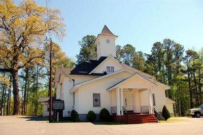 Hog Mountain Baptist Church image. Click for full size.