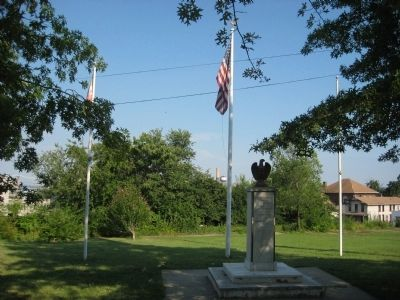 Brooklyn-Curtis Bay Veterans Memorial image. Click for full size.