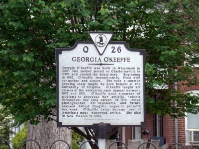 Georgia O'Keeffe Marker image. Click for full size.