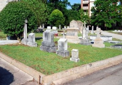 Furman University Plot -<br>Springwood Cemetery, Greenville SC image. Click for full size.