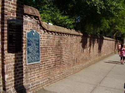 Pinckney/Rutledge Marker image. Click for full size.