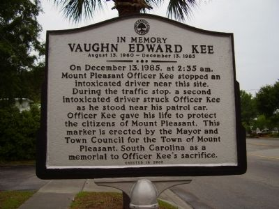 Vaughn Edward Kee Marker image. Click for full size.