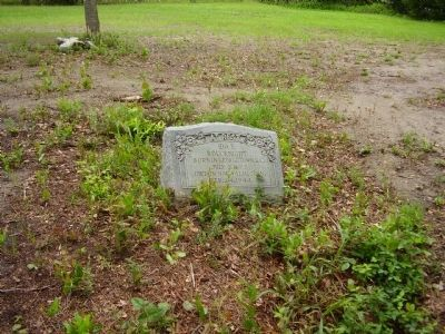 Another gravestone near the African American Cemetery Marker image. Click for full size.