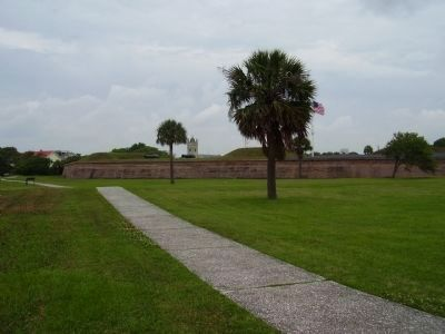 Site of Fort Sullivan image. Click for full size.