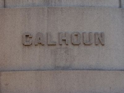 Calhoun Marker image. Click for full size.