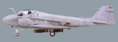 A-6E Intruder all-weather shipborne attack aircraft image. Click for full size.