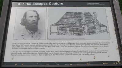 A.P. Hill Escapes Capture Marker image. Click for full size.