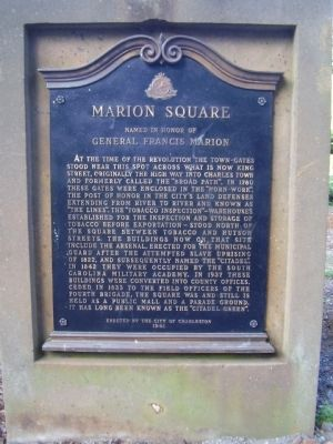 Marion Square Marker image. Click for full size.