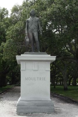 Moultrie Marker, East Face image. Click for full size.