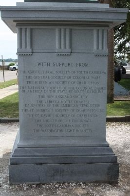 Moultrie Marker, North Face image. Click for full size.