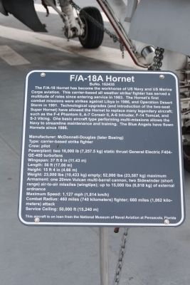F/A-18A Hornet Marker image. Click for full size.