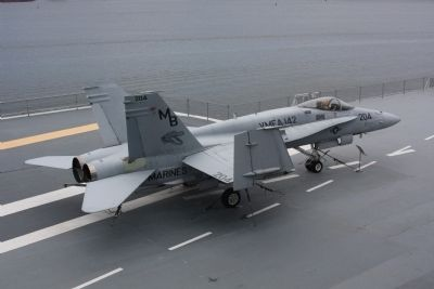 F/A-18A Hornet, multi-role attack and fighter aircraft image. Click for full size.
