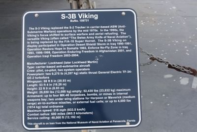 S-3B Viking Marker image. Click for full size.