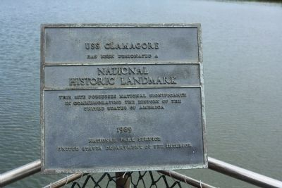 USS Clamagore Marker image. Click for full size.