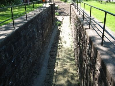 Downstream Section of Lock No. 21 image. Click for full size.