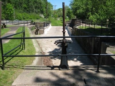 Upstream Section of Lock No. 21 image. Click for full size.