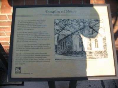 Temples of Mercy Marker image. Click for full size.