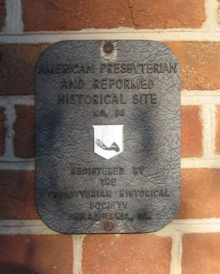 American Presbyterian and Reformed Historical Site image. Click for full size.