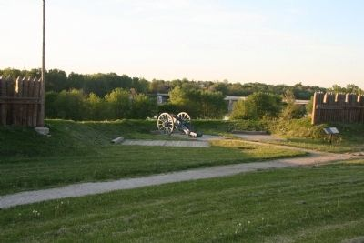 Fort Meigs image. Click for full size.