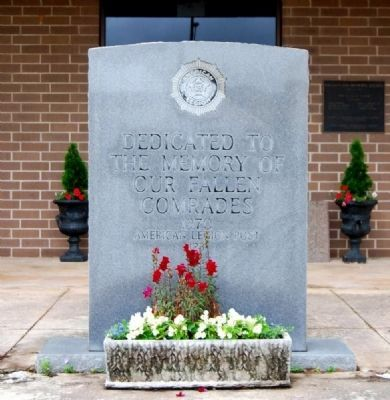Fountain Inn Veterans Monument image. Click for full size.