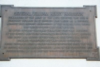 General William Henry Harrison Marker image. Click for full size.