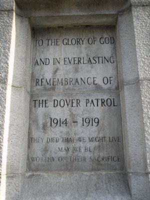 The Dover Patrol Marker image. Click for full size.