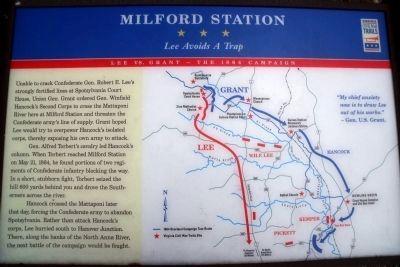 Milford Station CWT Marker image. Click for full size.