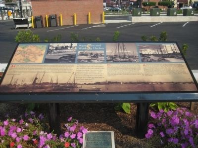 Watermen and Working Harbor Marker image. Click for full size.