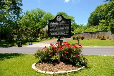 The McCarty Neighborhood Marker image. Click for full size.