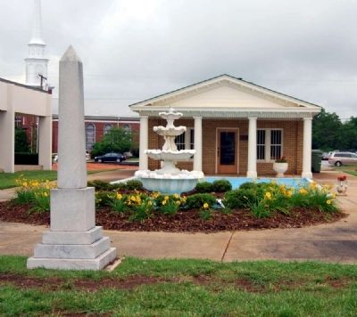 Eve Marker -<br>Robert Quillen Museum in Background image. Click for full size.