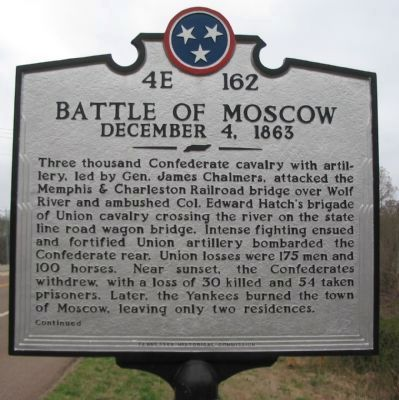 Front of Marker image. Click for full size.