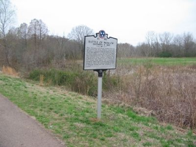 Front of Marker at Old Location image. Click for full size.