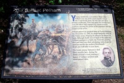 The Gallant Pelham Marker image. Click for full size.