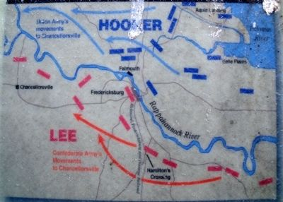Hooker's Flanking Maneuver. image. Click for full size.
