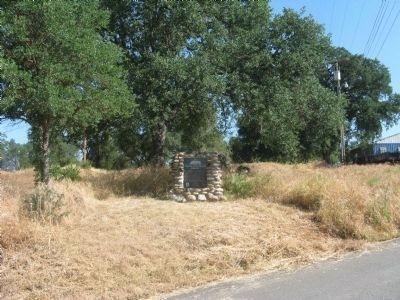 Calaveras County Hospital Cemetery Marker and Site image. Click for full size.