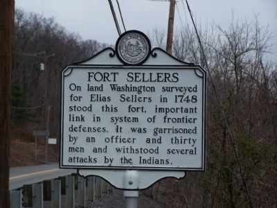 Fort Sellers Marker image. Click for full size.