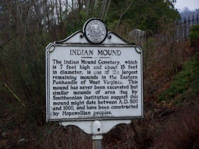 Indian Mound Marker image. Click for full size.