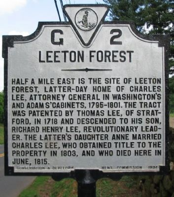 Leeton Forest Marker image. Click for full size.