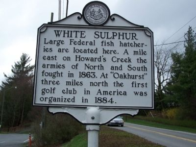 White Sulphur Marker Side A image. Click for full size.