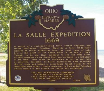 La Salle Expedition Marker image. Click for full size.