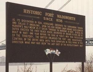 Historic Fort Wadsworth Marker image. Click for full size.